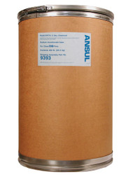 A picture of a 400 lb fiberboard drum of Ansul Plus-Fifty C Class BC Extinguisher Powder.