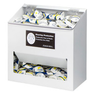 Large Capacity Ear Plug Dispensers, Clear or White