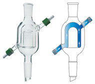 Condenser, Reflux, Compact w/ Removable Hose Connections
