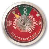 Halon 1211 Fire Extinguisher Gauges