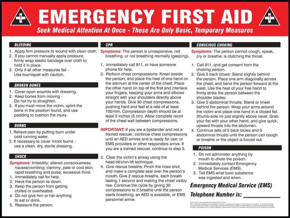 photo about Cpr Posters Free Printable identify Unexpected emergency To start with Guidance Wall Posters, English or Spanish
