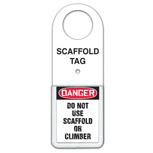 Safety Tag Status Tag Holders For Scaffolds Confined