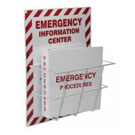 Emergency Information Center With Binder