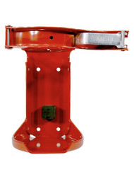 Head-on photo of the Ansul 79456 Vehicle Bracket for 10 and 15 lb CO2 Extinguishers.