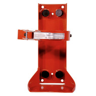 A photo of an Ansul 422737 Vehicle Bracket for 9.5 Lb Cleanguard extinguishers.