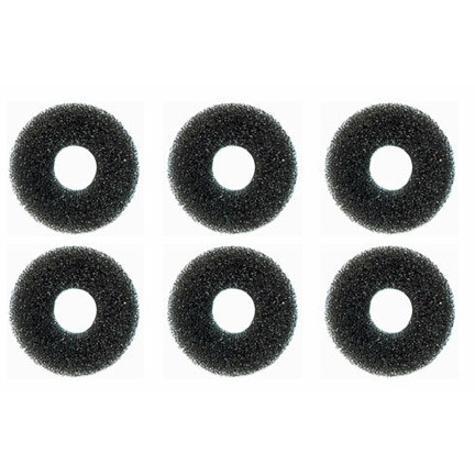 A photograph of six 470-024R FS-Plus™ Spray Head Filters.
