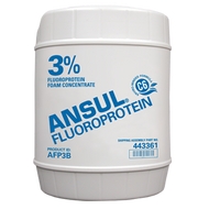 A picture of a 5 gallon (19 liter) pail of Ansul® AFP3B 3% Fluoroprotein Foam Concentrate
