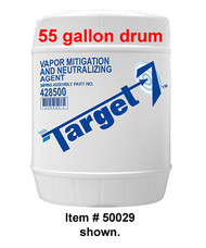 A picture of a 5-gallon (19 liter) pail of TARGET-7® Vapor Mitigation and Neutralizing Agent.
