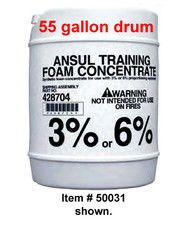 Ansul® Training Foam Concentrate, 55 gallon (208 liter) drum