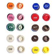 A photograph of an assortment of stock buttons.