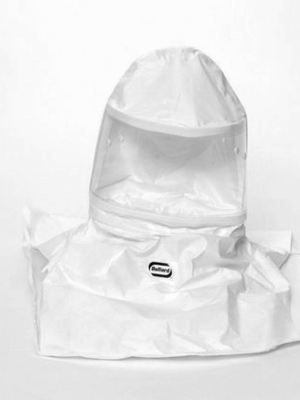 Bullard 20SICN Tychem SL Hoods w/ Taped + Sealed Seams, No Suspension, Box/5