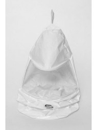 Bullard 20TICH Tychem QC Hoods For Use With Bullard Hard hats, Box/5