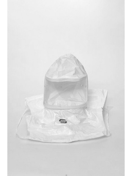 Bullard 20TICSN Tychem QC Hoods w/ Taped + Sealed Seams, No Suspension,  Box/5