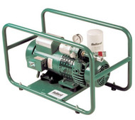 A photograph of a BL-EDP16TE Bullard EDP16TE free-air pump for 2-3 respirators, with 115 V, and for 2-3 users.