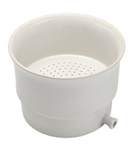A photograph of a CG-1889 tabletop porcelain Buchner funnel.