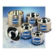 DILVAC Low-Profile Stainless Steel-Cased Glass Dewar Flasks