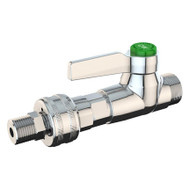A photograph of the L4303 High Flow Laboratory Water Valve w/ Quick Connect Fitting