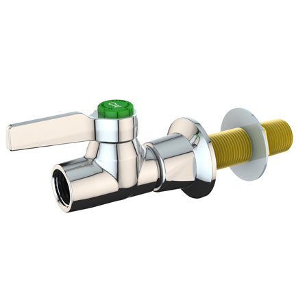 A photograph of the L4301-159WSA High Flow Laboratory Water Valve including the mounting shank.