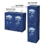 Eagle Modular Quik-Assembly™ Polyethylene  Acid & Corrosive Cabinets, 24 Gallon