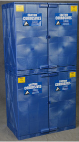 Eagle Modular Quik-Assembly™ Polyethylene  Acid & Corrosive Cabinets, 48 Gallon