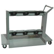 6-Cylinder Gas Cylinder Cart
