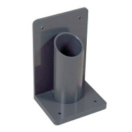 A photograph of a 26036 1-cylinder wall/bench-mounted lecture bottle holder.