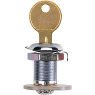 A photograph of a 09431 replacement Saf-T-Lock lock assembly for JL Industries extinguisher cabinets.
