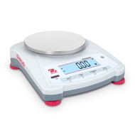 Photograph of Ohaus Navigator NV Portable Electronic Scales w/ Touchless Sensor, round top (NV222, NE 422).