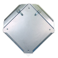 Easy Access DOT Placard Holder w/ Protective Shield