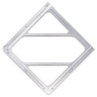 Aluminum Face Plate DOT Placard Holder