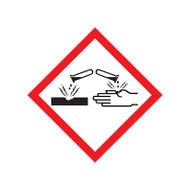 GHS Corrosion Pictogram Labels