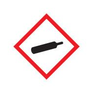 GHS Gas Cylinder Pictogram Labels