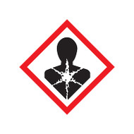 GHS Health Hazard Pictogram Labels