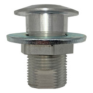 "1/2"" Laboratory Bench Rod Sockets, Surface Flanged"