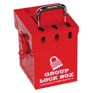 7-Lock Mini Group Lockout Box