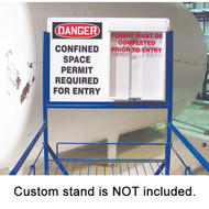 Indoor/Outdoor Confined Space Permit Station