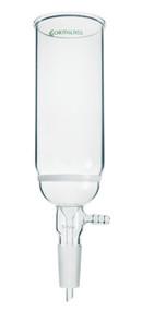 A photograph of a representative CG-1412 quick separation Büchner columns/funnel.