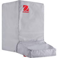 Photograph of Ohaus Dust Cover for Balances with Draft Shield, covering a balance (not included).