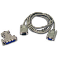 Photograph of Cable, 25 Pin-9 Pin, PC-TxxP.