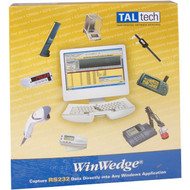 Photograph of Box Front of Winwedge Software.