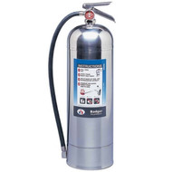 A photograph of a Badger model WP-61 extra water fire extinguisher.