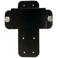 Bracket shown assembled and upright