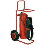 Badger 50MB ABC Dry Chemical Stored Pressure 50 lb Wheeled Fire Extinguisher