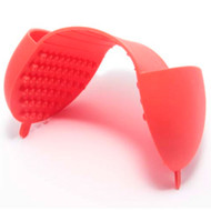 Red silicone hand protector