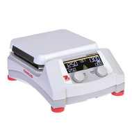 """Photograph of Ohaus Guardian™ 7000  7"""" x 7"""" ceramic top,  hotplate stirrer, right facing."""