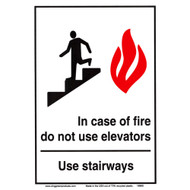 Drawing of the sign as described in the Product Description.