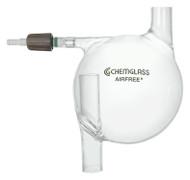 A photograph of a af-0300-08 pump oil trap, airfree™, 500 ml.