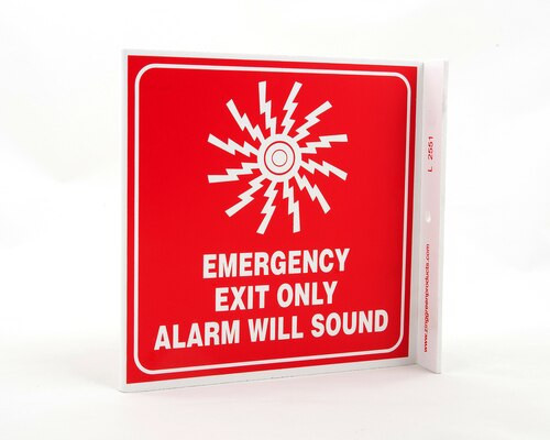 Picture of the sign as described in the product description.