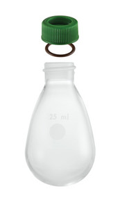 A photograph of a mw-57 recovery flask, minum-ware®.