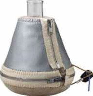 A photograph of a 20533 series o erlenmeyer flask heating mantle, fabric shell.